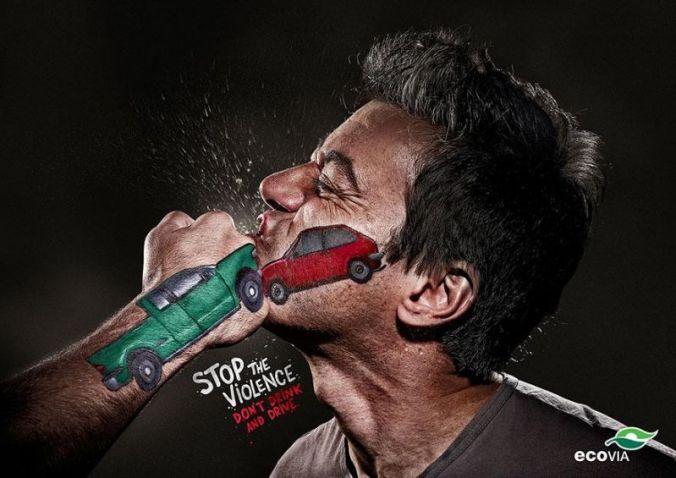لا تقود تحت تأثير الكحول