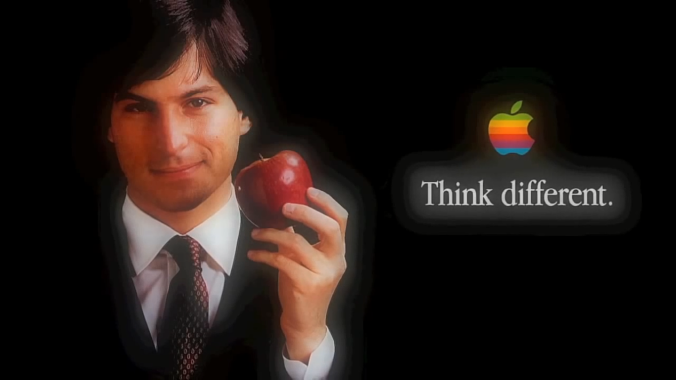 أبل فكر بشكل مختلف, Think Different Apple