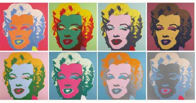 فن البوب - ما بعد الحداثة - أندي وارهول